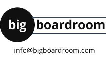 BigBoardroom.com - email us at info@bigboardroom.com